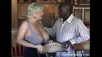 huge saggy tits claudia marie fucked by black.