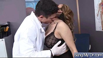 hot patient (yurizan beltran) and doctor in sex.