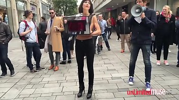 women&#039_s rights activist let&#039_s the public feel her up