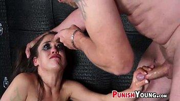 naughty schoolgirl hate fucked