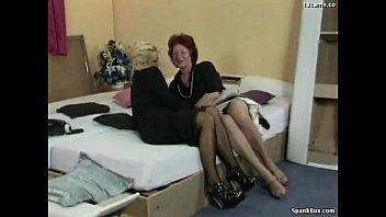 granny fucks her lesbian friend  039 s.