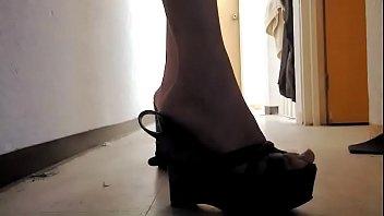 whore wearing high heels