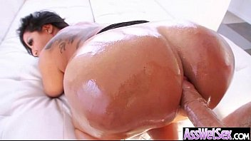 round ass girl get deep and hard nailed video-19