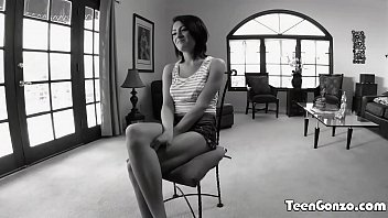teengonzo teen with natural tits banged by white.