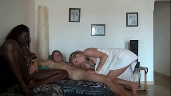 the white boy fucks the black maid and.