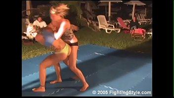 wrestling - artemis vs nadine