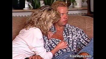 horny blonde milf gets her tight.