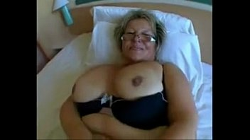 big babe granny with big tits in brutal.