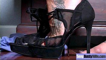 busty horny housewife (ashton blake) enjoy hard style.
