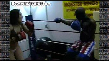 boxing sinn sage combat fetish - big booty.