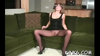 juicy pussy gap looks arousing in transparent fancy tights
