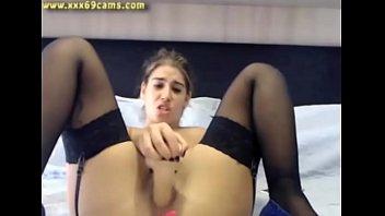 big ass webcam teen rides dildo