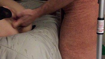 anita cummings has a roommate help her squirt.