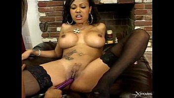 ebony lesbians lacey duvalle and some other random.