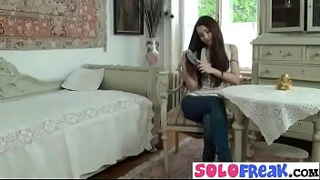 (stacy) lovely solo girl on masturbation sex action clip-16