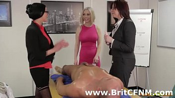 naughty british women strip cfnm man.