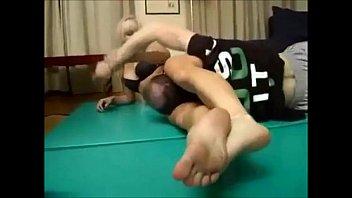 blonde girl wrestling hot