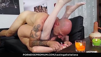 casting alla italiana - anal fuck and gape.