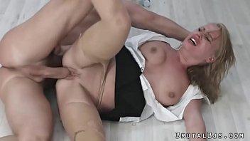 harsh anal for office secretary