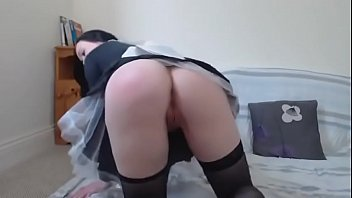 french maid striptease sexy - more videos at nakedgirl88.webcam