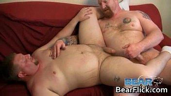 tattooed homo bear having sex on.