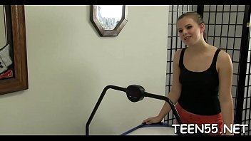unable to pass her exam, teen whore serves.