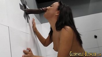 cutie sucks at gloryhole