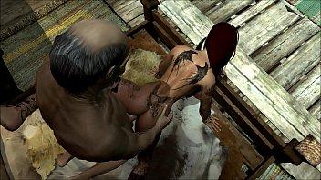 elena fucks with old man in skyrim 3d hardcore