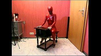 tied up slave girl posing in.