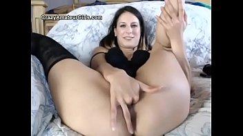 nice slut spreads pussy wide open