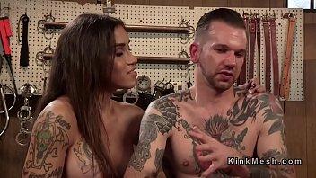 huge tits tranny gets blowjob and.