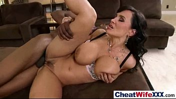 (lisa ann) sexy hot wife get hard sex.