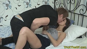cheating russian gf banged by big.