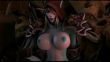 3d sex of one dark elf cougar and.