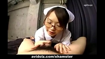 japanese nurse sucking patient cock.