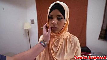 ethnic arab babe gets fucked and.