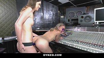 dyked - horny lesbian producer seduces.