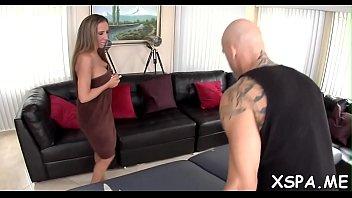 man uses his big cock to ravage a.