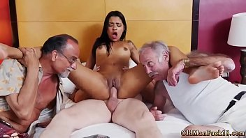 young and old hardcore staycation with a latin hottie