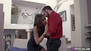 realtor shemale with big tits anal fucked by.