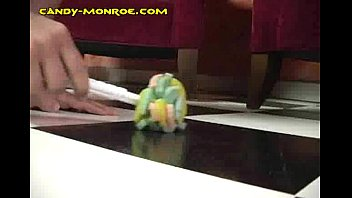 blonde candy mocking white small dick