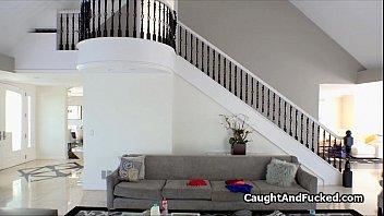 squatter caught fingering on hidden camera