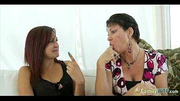 mother teaching daughter 254