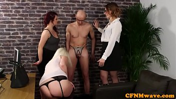 mean cfnm babes jerking sissified subs.