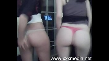 real sisters strips on webcam -.