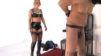 busted burglar part3 - mistress athena - femmefatalefilms.