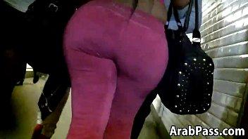 big arab booty walking around in.