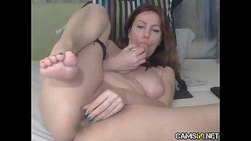 big tit bbw milf toys curvy pussy on.
