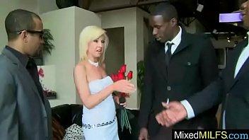 interracial hard sex with black huge cock inside.