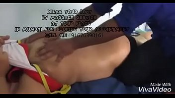 wife get massage by me while cuckold hubby films..